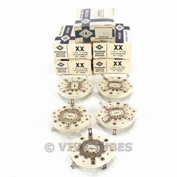 NOS NIB Vintage Lot of 5 Centralab Ceramic Rotary Switch Wafers 1 POL 4 POS