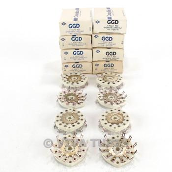 NOS NIB Vintage Lot of 8 Centralab Ceramic Rotary Switch Wafers 1 POL 11 POS
