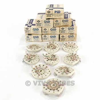 NOS NIB Vintage 9x Centralab Ceramic Rotary Switch Wafers Capacitor Decade