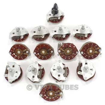Vintage Lot of 14 Centralab Model PA010-471 2-Way Tone Switches SPR RET