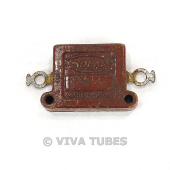 Vintage Solar Type XQ-5W Flat Mica Capacitor 0.014uF 600V