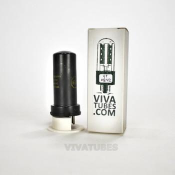 Tests NOS Philco USA 6V6 Metal Vacuum Tube 100+%