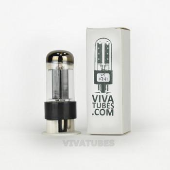 Tests NOS Sylvania USA 6V6GTA Black Box Plate Top O Get Vacuum Tube 100+%