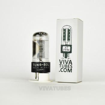 Tests NOS Vintage Tung-Sol USA 6V6GTA Black Plate Top O Side [] Get Tube