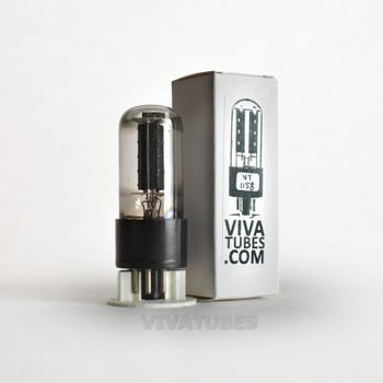 Tests NOS CBS Hytron USA 6W6GT Black Box Plate 2 BTM [] Get Tube