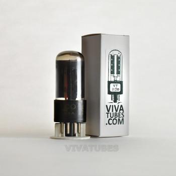 Tests NOS Sylvania USA 6W6GT Black Box Plate Top [] Get Smoked Glass Tube