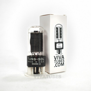Tests NOS Vintage Tung-Sol USA 6W6GT Black Box Plate Side O Get Tube