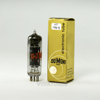 True NOS NIB DuMont USA 6X4 [EZ90] Black X Plate Top [] Get Vacuum Tube 100+%