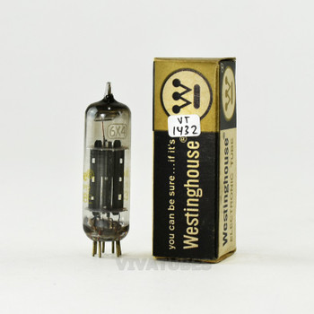 True NOS NIB Westinghouse USA 6X4 [EZ90] Black X Plate Top [] Get Tube