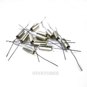 Lot of 12 Vintage Sprague Paper in Oil Electrolytic Capacitors .1uF 300V