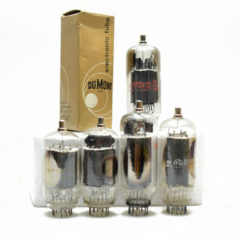 Lot of 5X. Vintage 6KN6 Loose/Boxed Glass Vacuum Tubes. Untested Mixed Brands.