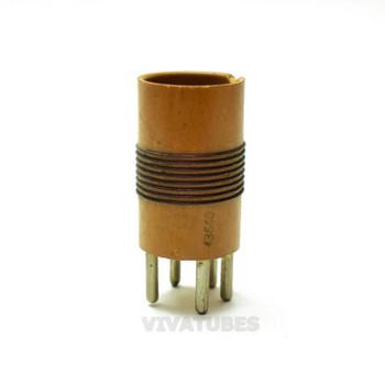 """Vintage James Millen CO. 43640 5-Prong Radio Coil Bakelite 1"""" Diameter"""