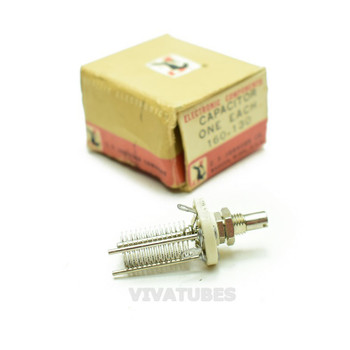 NOS NIB  E.F. Johnson 160-130 Type 30MB/Cat Variable Tuning Capacitor
