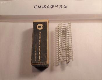 """NOS NIB 3"""" Illumitronic Engineering 806-T Air Dux Air Wound Coil"""