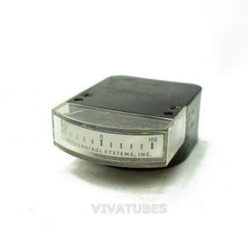 International Instrument Band Volt Panel Meter 100-01-100 Range Voltmeter