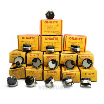 Lot of 14X. NOS NIB Ohmite CS-1 Attachable Switch for Type AB Potentiometer.