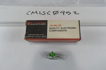"""NOS NIB MIller 6191 250 uH Peaking Coil RF Filter Choke 1/4"""""""