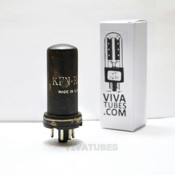 Tests NOS Ken-Rad USA 6X5 Metal Rust Vacuum Tube
