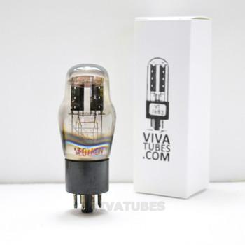 Tests NOS Neotron FRANCE 6X5G [Big Bottle] Black Plate Foil Get Rattle Vacuum Tube