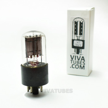 Tests NOS Philco USA 6X5GT Black Plate [] Get Vacuum Tube