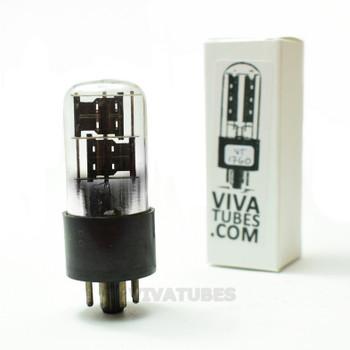 Tests NOS Silvertone USA 6X5GT Black Plate Foil Get 3 Mica Vacuum Tube