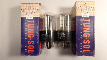 True NOS NIB Matched Pair Vintage Tung-Sol USA 6X5GT [] Get Tubes