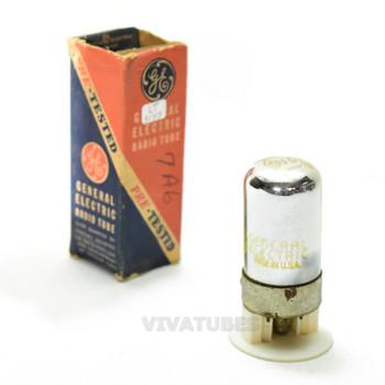 True NOS NIB GE USA 7A6 Vacuum Tube 100%