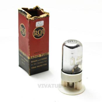 True NIB NOS RCA USA 7A6 Vacuum Tube 100+%
