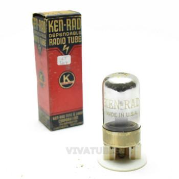 True NOS NIB Ken-Rad USA 7B4 Black Vacuum Tube 100+%