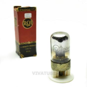 True NOS NIB RCA USA 7B4 Black Vacuum Tube