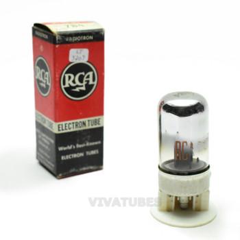 True NOS NIB RCA USA 7B4 Grey Vacuum Tube 100+%