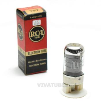 True NOS NIB RCA USA 7B7 Grey Plate Get Vacuum Tube 100+%