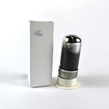 True NOS CBS Hytron USA 7C5 Plate Get Smoked Glass Vacuum Tube 100+%