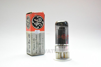 True NOS NIB GE USA 7C5 Black Plate Top O Get Smoked Glass Vacuum Tube 100+%