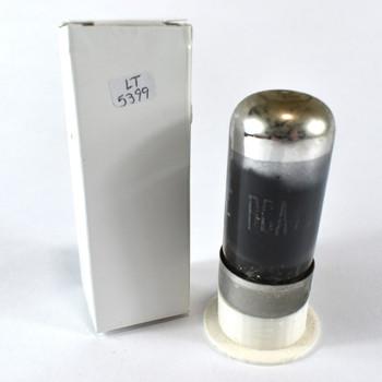 True NOS RCA USA 7C5 Black Smoked Glass Vacuum Tube 100+%