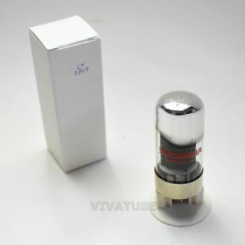 1 True NOS Sylvania USA 7C5 Black Vacuum Tube 100+%