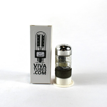 Tests NOS National Union NU USA 7C6 Black 3 Mica Vacuum Tube 100+%