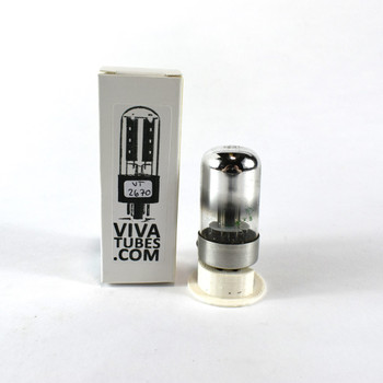 Tests NOS Sylvania USA 7C6 Grey Vacuum Tube 100+%
