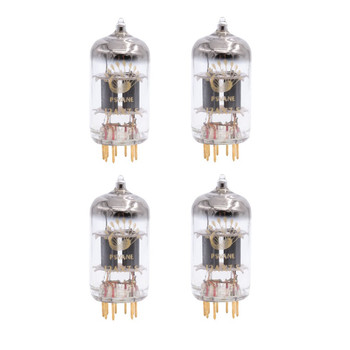 Gain Matched Quad (4 ps) Psvane 12AX7-S ECC82 Art Series Vacuum Tubes - Gold Pins- Brand New