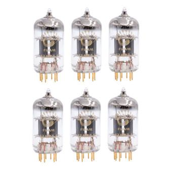 Gain Matched Sextet (6 ps) Psvane 12AX7-S ECC82 Art Series Vacuum Tubes - Gold Pins- Brand New