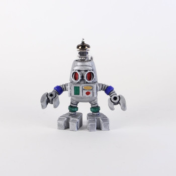 Handcrafted Vacuum Tube Robot Figurine - Small - Robrecht