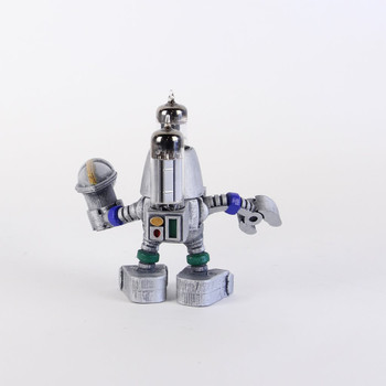 Handcrafted Vacuum Tube Robot Figurine - Small - Rochbert