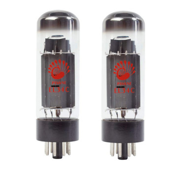 New Ip Matched Pair Psvane EL34C HiFi Series Vacuum Tubes