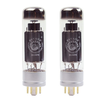 New Ip Matched Pair Psvane EL34PH Metal Base Philips Replica Vacuum Tubes