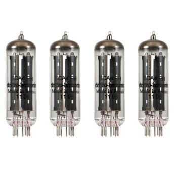 New Matched Quad Electro-Harmonix 6CA4 EZ81 Vacuum Tubes