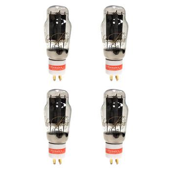 New Ip  Matched Quad Genalex Gold Lion PX-2A3 Vacuum Tubes