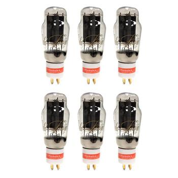 New Ip  Matched Sextet Genalex Gold Lion PX-2A3 Vacuum Tubes