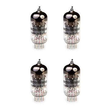 New Gain Matched Quad Electro-Harmonix 12DW7 / ECC832 Vacuum Tubes