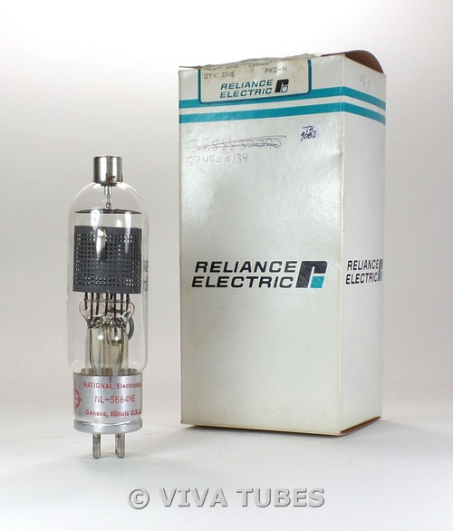 NIB National Electronics NL-5684 NE [3CJA] Xenon Timing Thyratron Vacuum Tube
