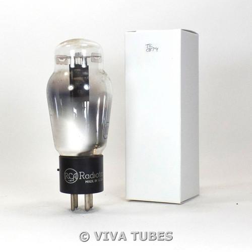 Tests NOS RCA USA Type 10 Black Plate D Foil Get Vacuum Tube 100+%
